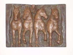 4 Horse Relief