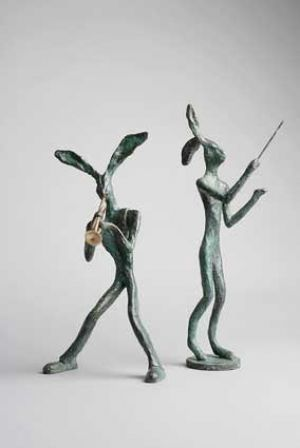 Jazz Hare and Maestro Hare